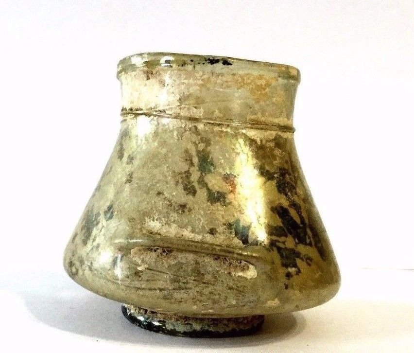 Ancient Roman Glass Cup.