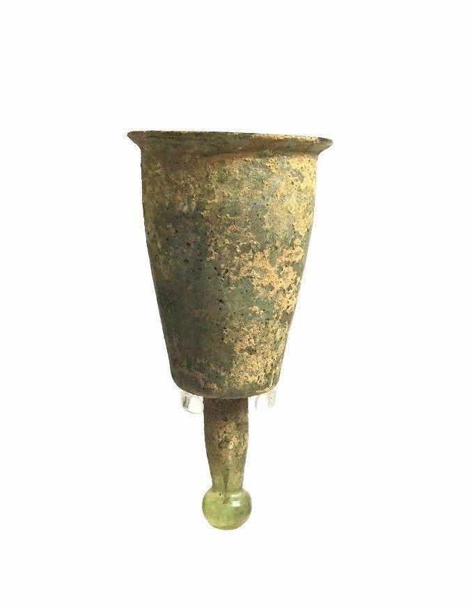 RARE Ancient Roman Glass cup .