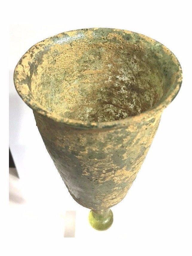 RARE Ancient Roman Glass cup . - 3
