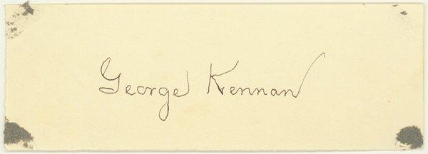 1012: GEORGE KENNAN, A KEY FIGURE THE COLD WAR