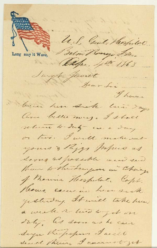 1023: A SURGEON WRITES CONCERNING A UNION DISCHARGE