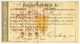1573: PANAMA RAIL ROAD CO.