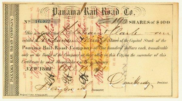 1573: PANAMA RAIL ROAD CO.