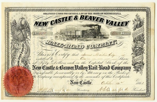 2005: NEW CASTLE & BEAVER VALLEY RR CO.