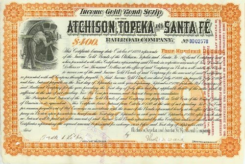 2009: ATCHISON, TOPEKA & SANTA FE RR CO.