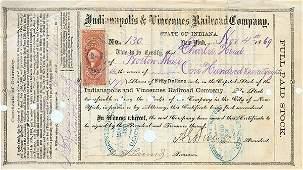 2381: SIGNED BY AMBROSE E. BURNSIDE AS PRESIDENT