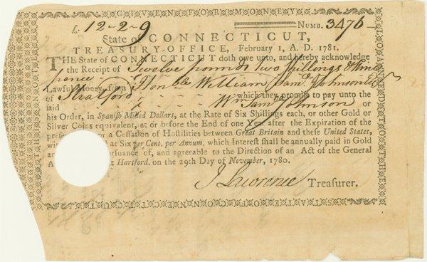5: SAMUEL JOHNSON, SIGNER OF THE CONSTITUTION