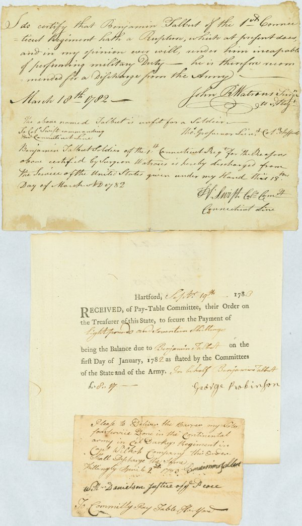 19: THE MEDICAL DISCHARGE OF A REV. WAR SOLDIER