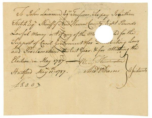 13: B.HUNTINGTON  A.ADAMS OLIVER WOLCOTT JR.