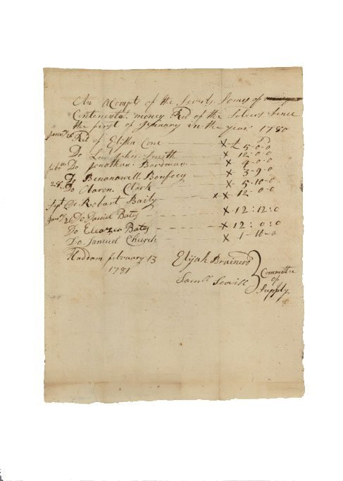 16: SOLDIERS WHO PAID WITH CONTINENTAL CURRENCY