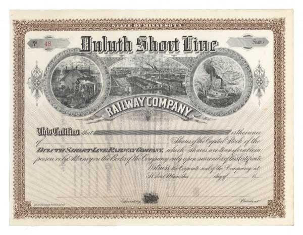 2003: DULUTH SHORT LINE RAILWAY COMPANY