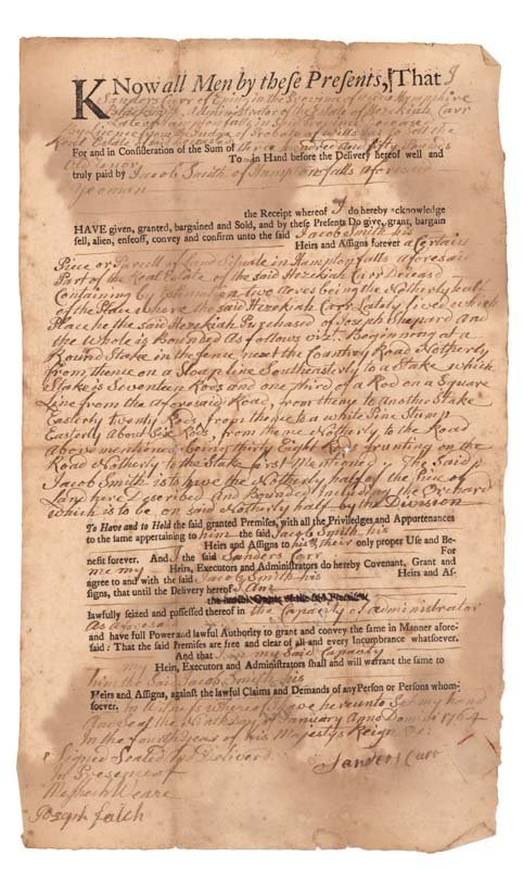 4: DOCUMENT SIGNED BY MESHECH WEARE