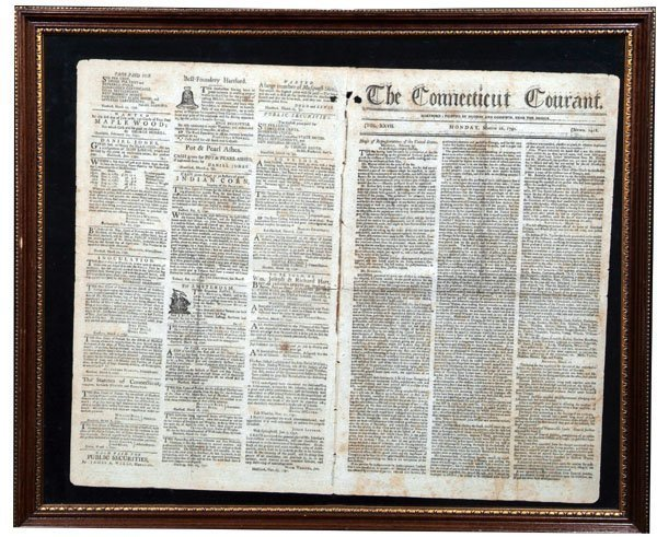 2: THE CONNECTICUT COURANT