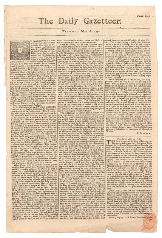 8: THE DAILY GAZETTEER