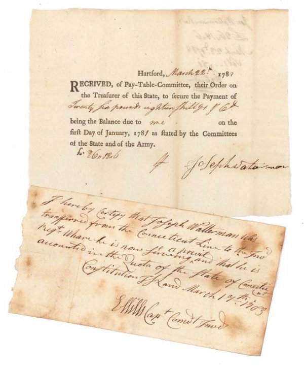 21: SIGNED AT CONSTITUTION ISLAND