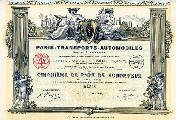 15: Paris-Transports-Automobiles S.A.