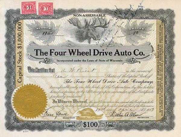 23: Four Wheel Drive Auto Co.