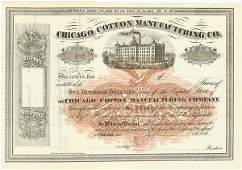 465: Chicago Cotton Manufacturing
