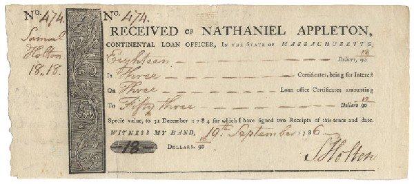 4: Loan Office Exchange Document