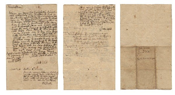 7: John Weld, William Dudley and Samuel Gerrish