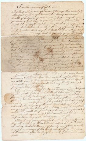 10: John Treadwell As Witness To A Will