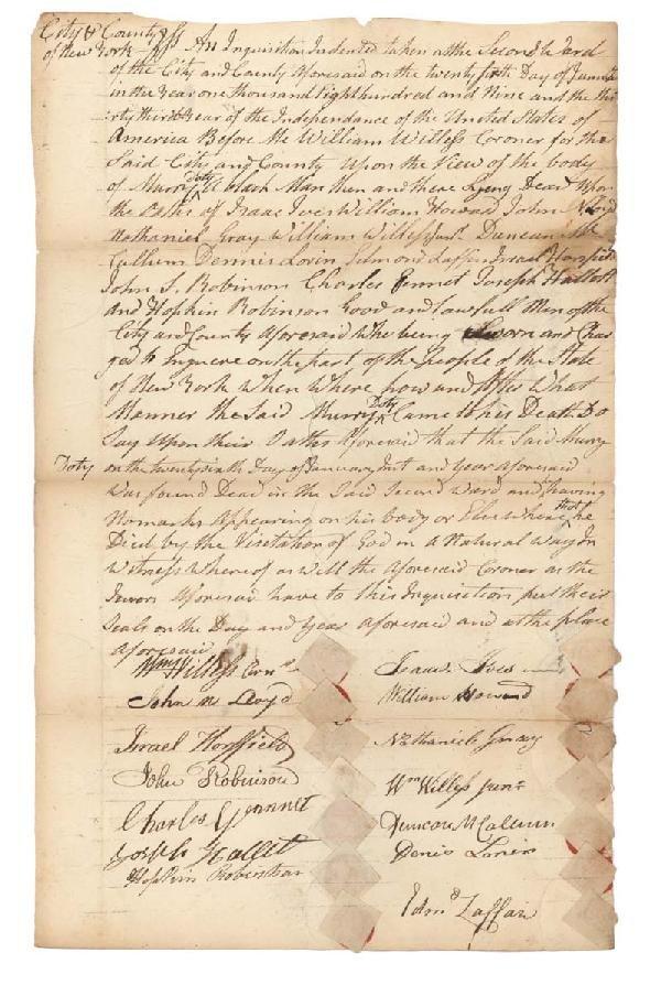 16: Fourteen White Witnesses Sign An Affidavit