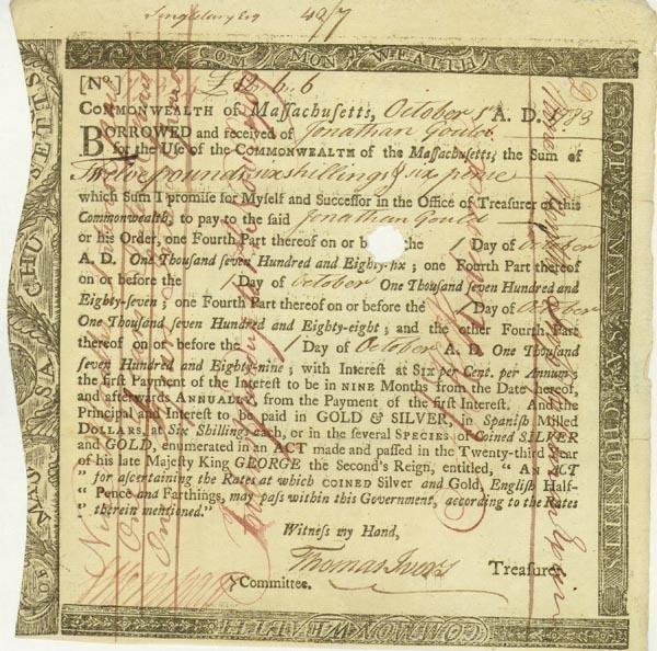 7: Commonwealth Of Massachusetts Bond