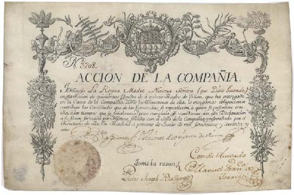 16: Historically Significant Spanish Trading Company