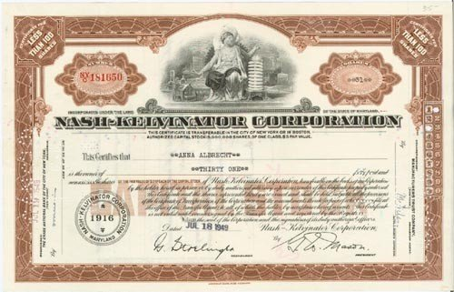 18: Nash-Kelvinator Corporation