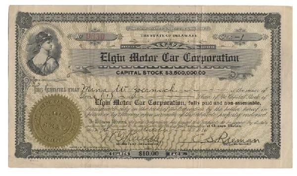 24: Elgin Motor Car Corporation