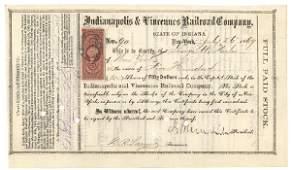 139: Signed By Ambrose E. Burnside As President