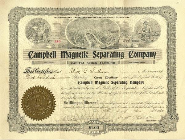 436: Campbell Magnetic Separating Company