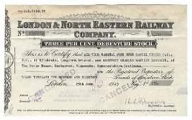 806: London & North Eastern Railway Company Stock