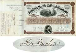 817: NP RR Stock I/S - Rev. Henry Ward Beecher