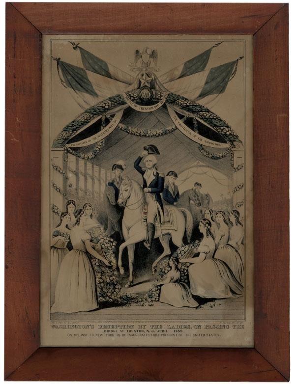3: Washington's Reception by the Ladies