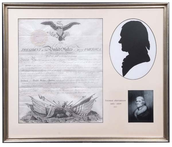 4: Thomas Jefferson Signed Military Appointment