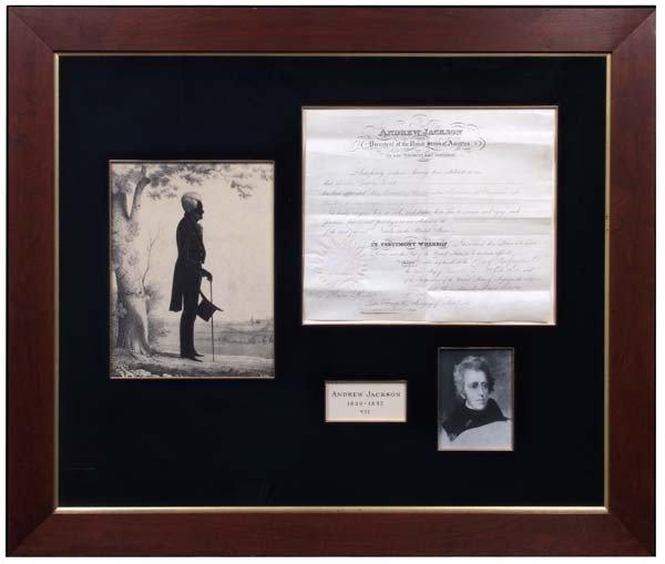 14: Andrew Jackson Recognizes Vice Consul of Uruguay