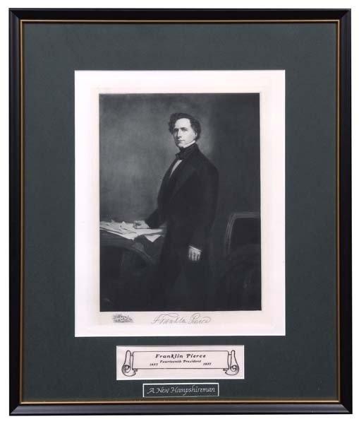 20: Franklin Pierce Engraving