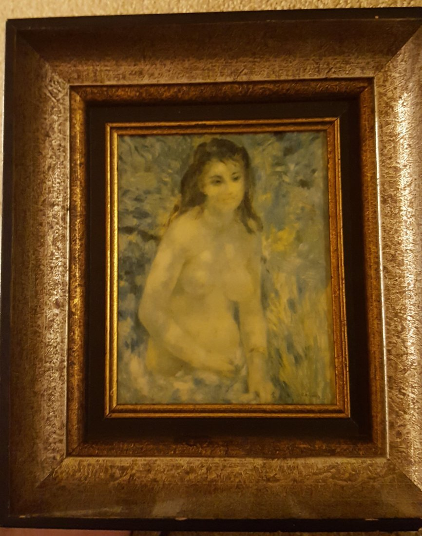 RENOIR'S Study Torso Sunlight Effect-Print/Canvas