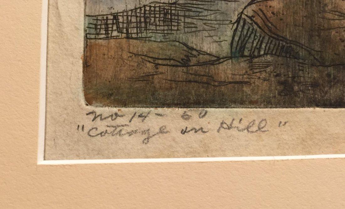 CARL KRAFFT Signed Hand-color Etching - 4