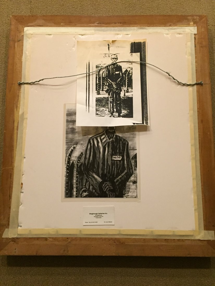 HANIA signed Powerful Portrait of St. Maximilian Kolbe - 6