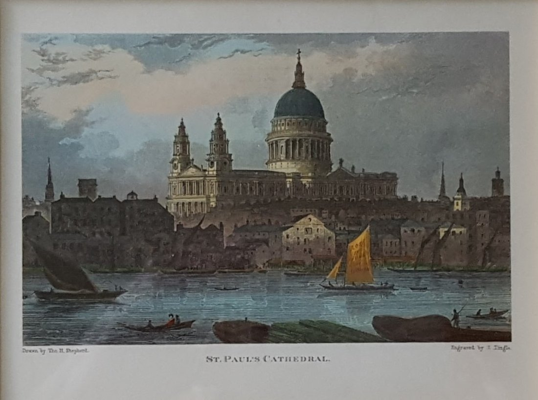 ST. PAUL'S CATHEDRAL Print Framed