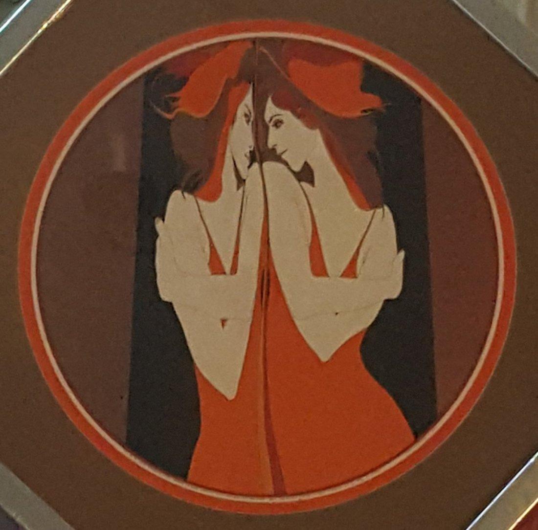 EASTMAN Vintage Serigraph original frame 1973