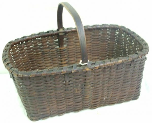 1002: Taconic Indian Work Basket Splint and Ash