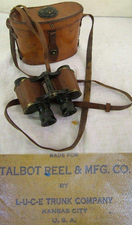1020: Talbot Reel and Mfg Binoculars Kansas City