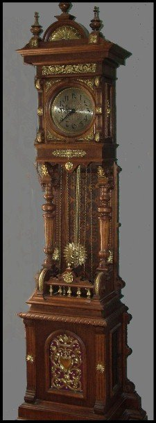 89: 19th Century Linkirc Bronze Mounted 8 Day Tall Case