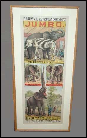 151: Investment Grade Barnum & Bailey Jumbo Poster