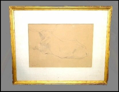 210: 210: Pencil Drawing By John singer Sargent