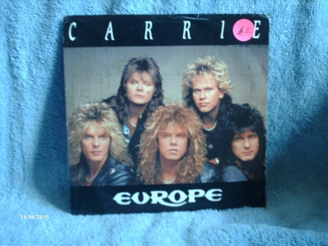 Europe ,  Carrie