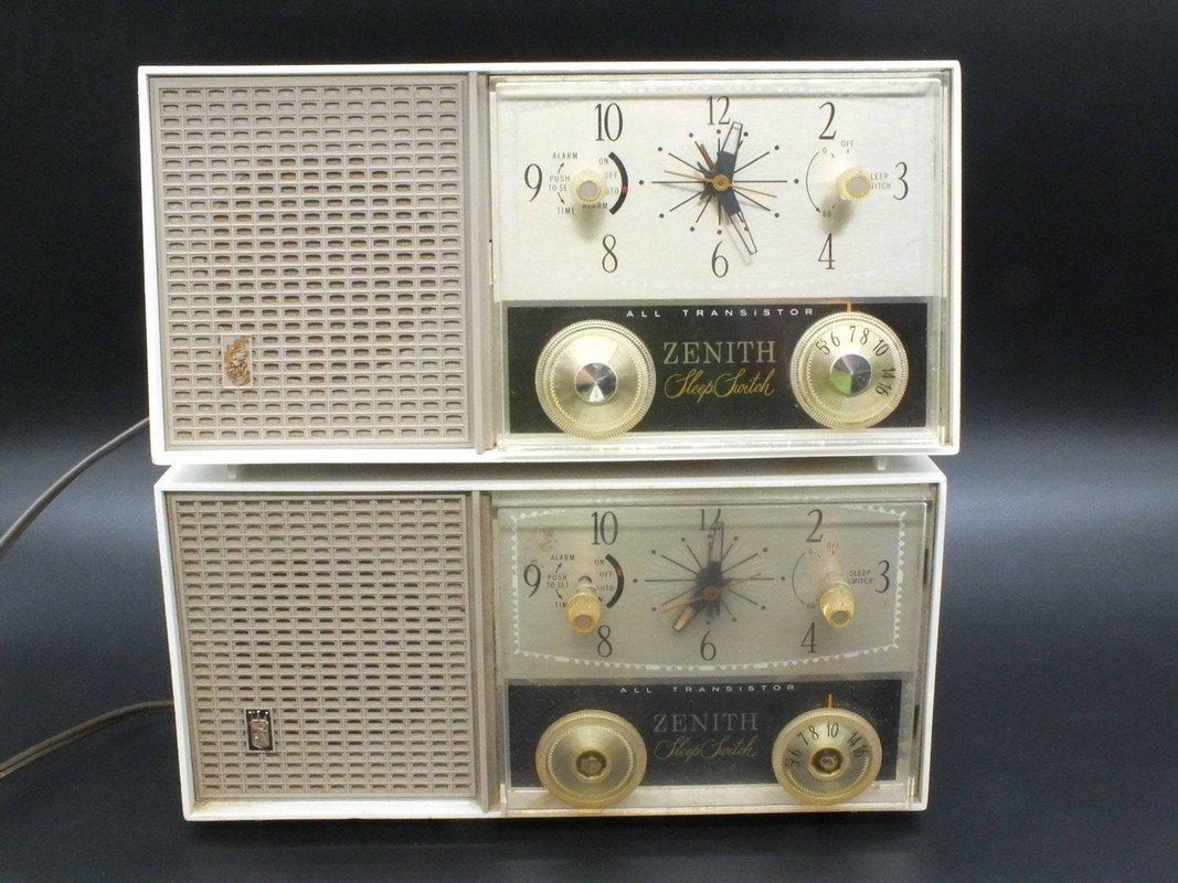 Zenith Sleep Switch All Transistor Radio Model M875W